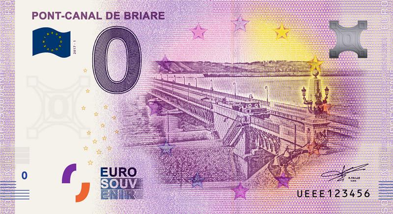 Billet touristique 0€, Pont_Canal_de_Briare