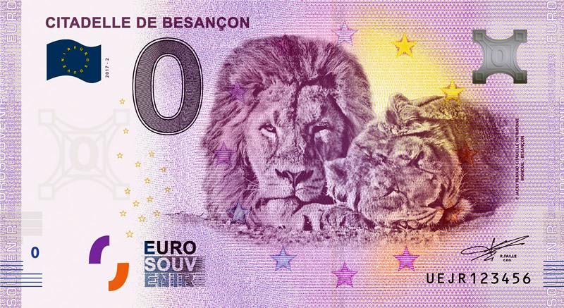 Billet touristique 0€, Citadelle de Besançon