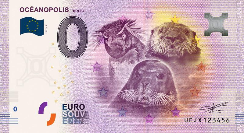 Billet touristique 0€, Oceanopolis