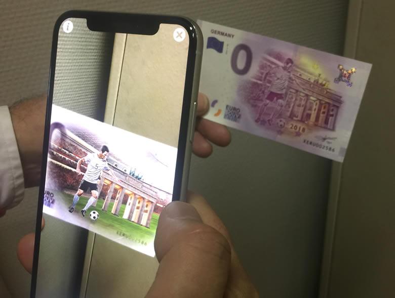 EXCLUSIVITÉ EMONNAIES.FR - Billets 0 euro en réalité augmentée (VIDÉO)