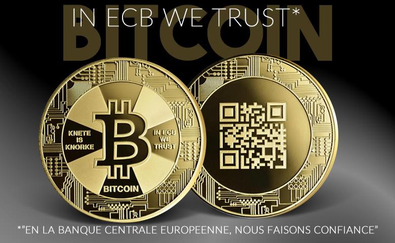 Le Bitcoin vu par la BCE (VIDÉO)