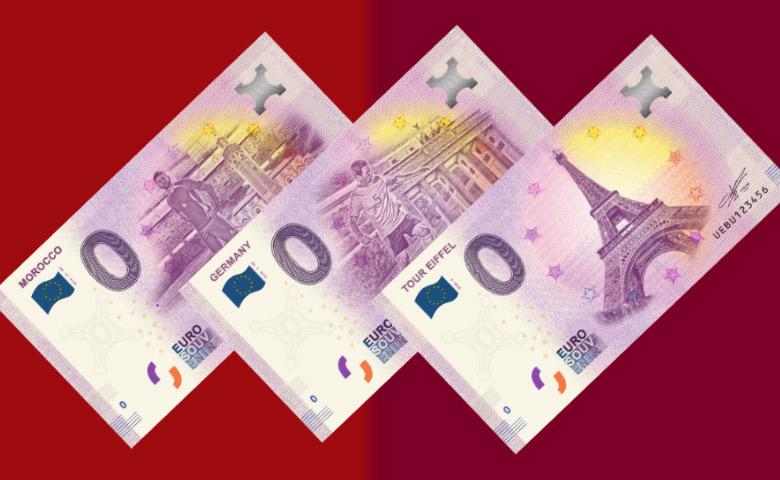 Les nouveautés des billets 0 euro souvenir