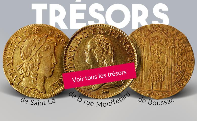 Découvrez nos trésors monétaires