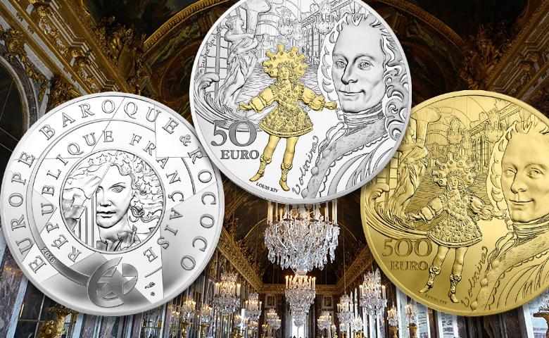 Baroque & Rococo pour la Monnaie de Paris en 2018