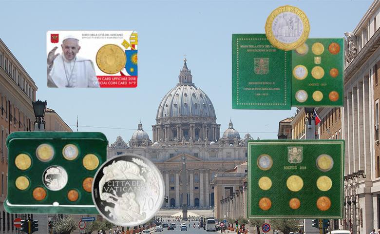 Séries BU et BE pour le Vatican 2018