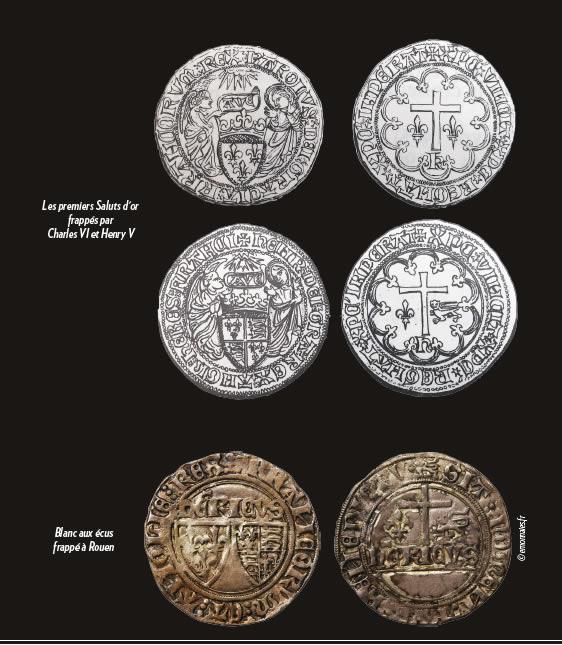 Le Salut d'or d'Henry VI,Roi de France et d'Angleterre