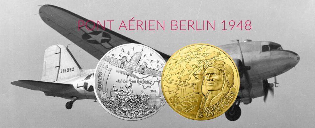 DAKOTA - PONT AÉRIEN BERLIN - Monnaie de Paris