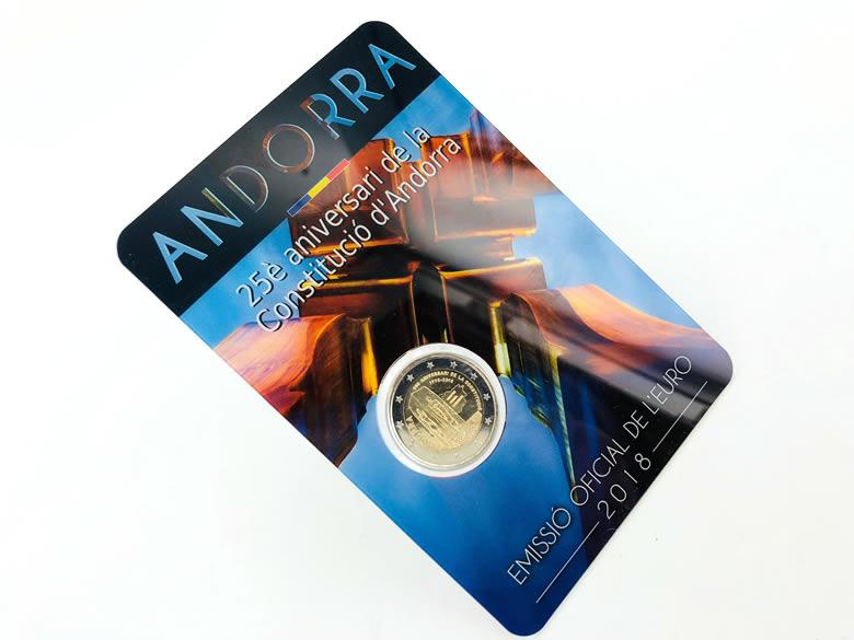 Les euros Andorre 2018
