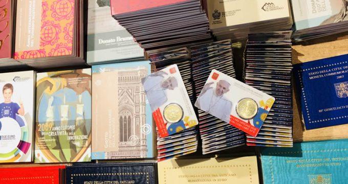 les euros du Vatican et de Saint Marin