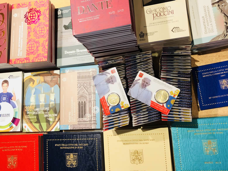 Vatican, Saint Marin & Andorre, les entrées en stock de la semaine