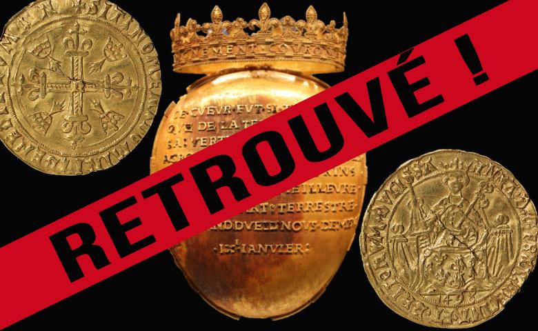 Reliquaire et trésors du musée Dobrée retrouvés !