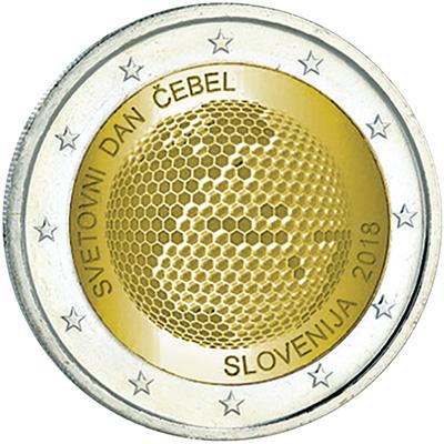 2 euro slovénie