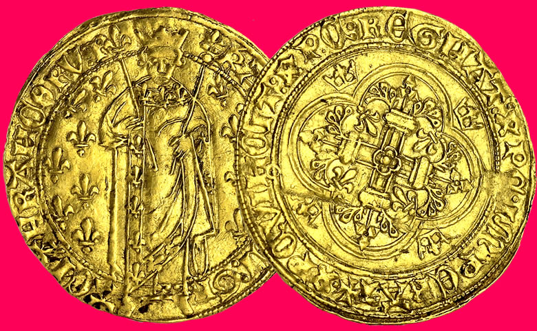 Royal d'Or Charles VII - 1422/1461