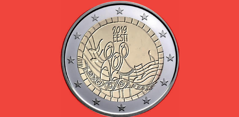 PREMIERE IMAGE 2 euros commémorative nationale 2019,