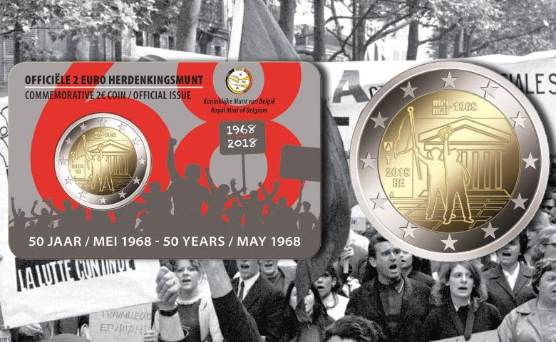 Mai 1968 commémorée par la Belgique