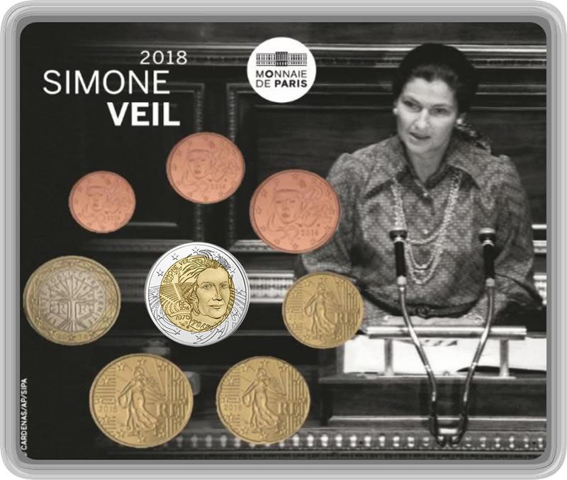 Série BU  8 pièces Simone Veil