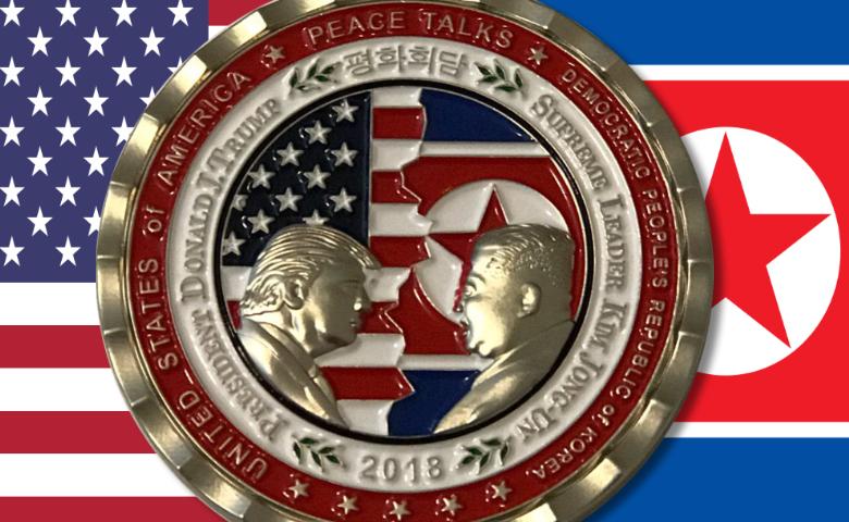 Trump - Kim Jong-Un : pas de rencontre mais une médaille !