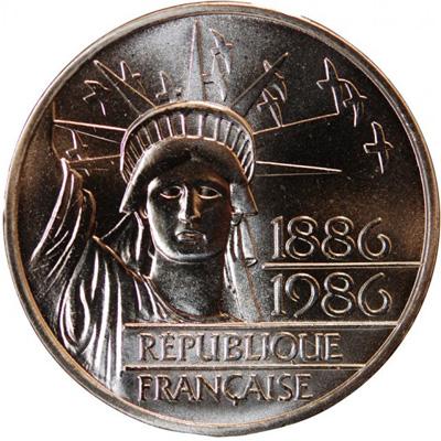 100 francs piéfort