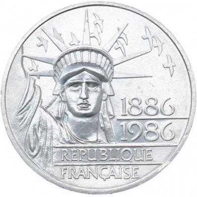 100 francs 1986