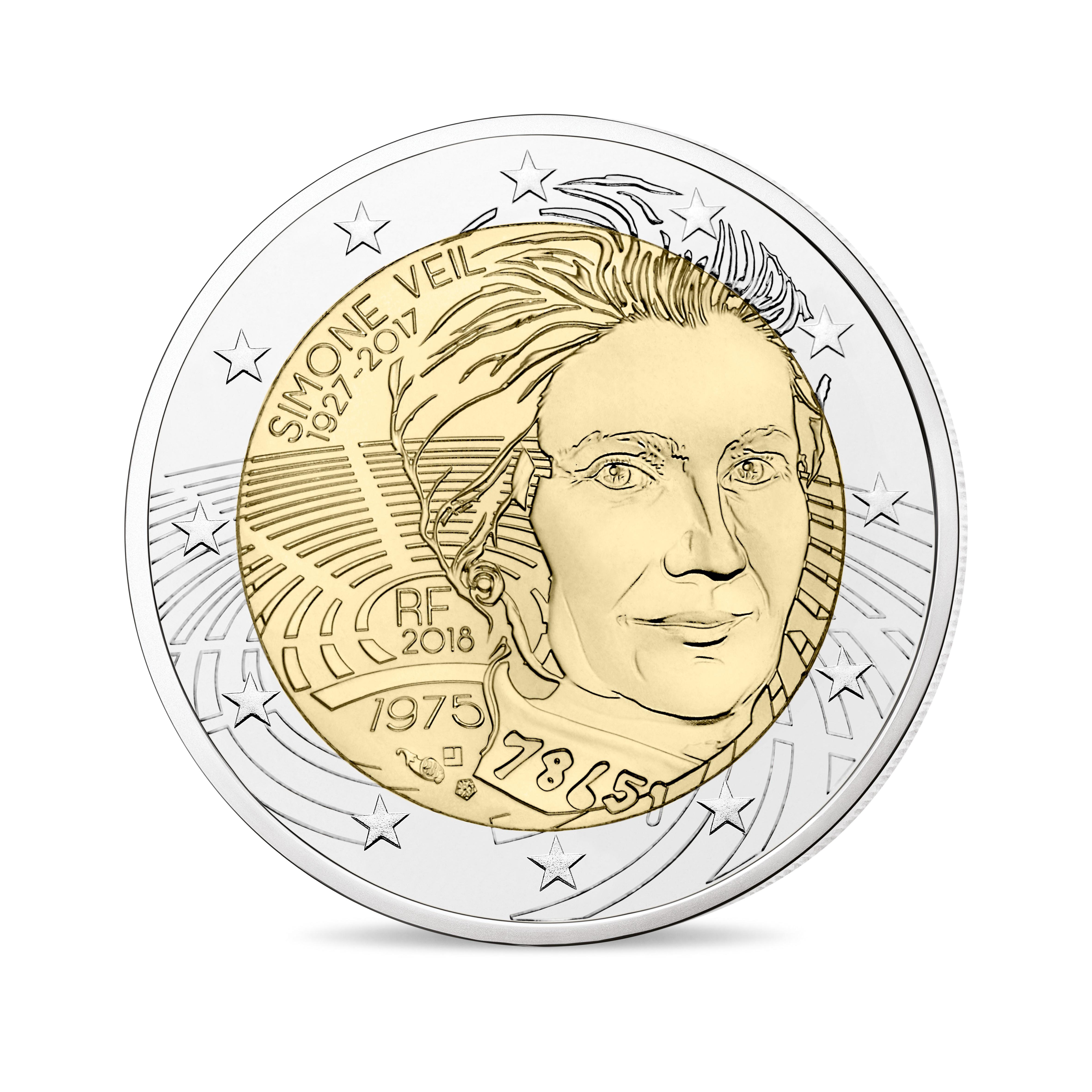 2 € 2018 Simone Veil