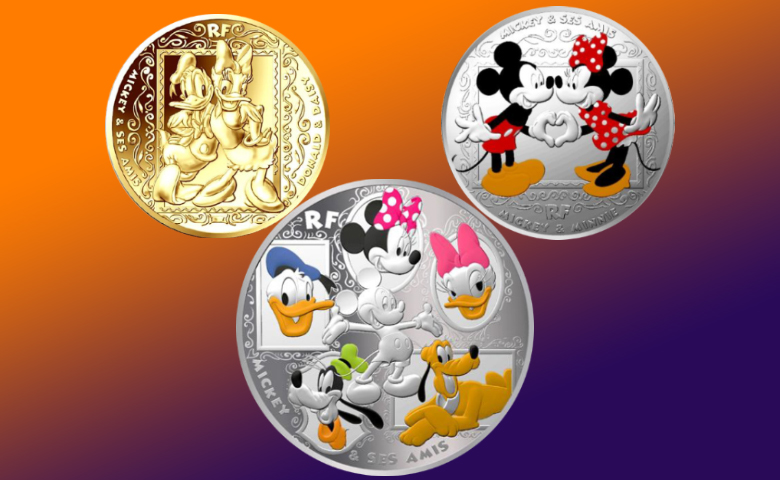 La Monnaie de Paris célèbre Mickey et ses amis