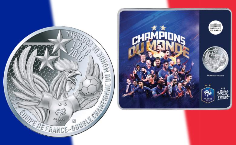 Une 10 € argent pour les Champions du monde !