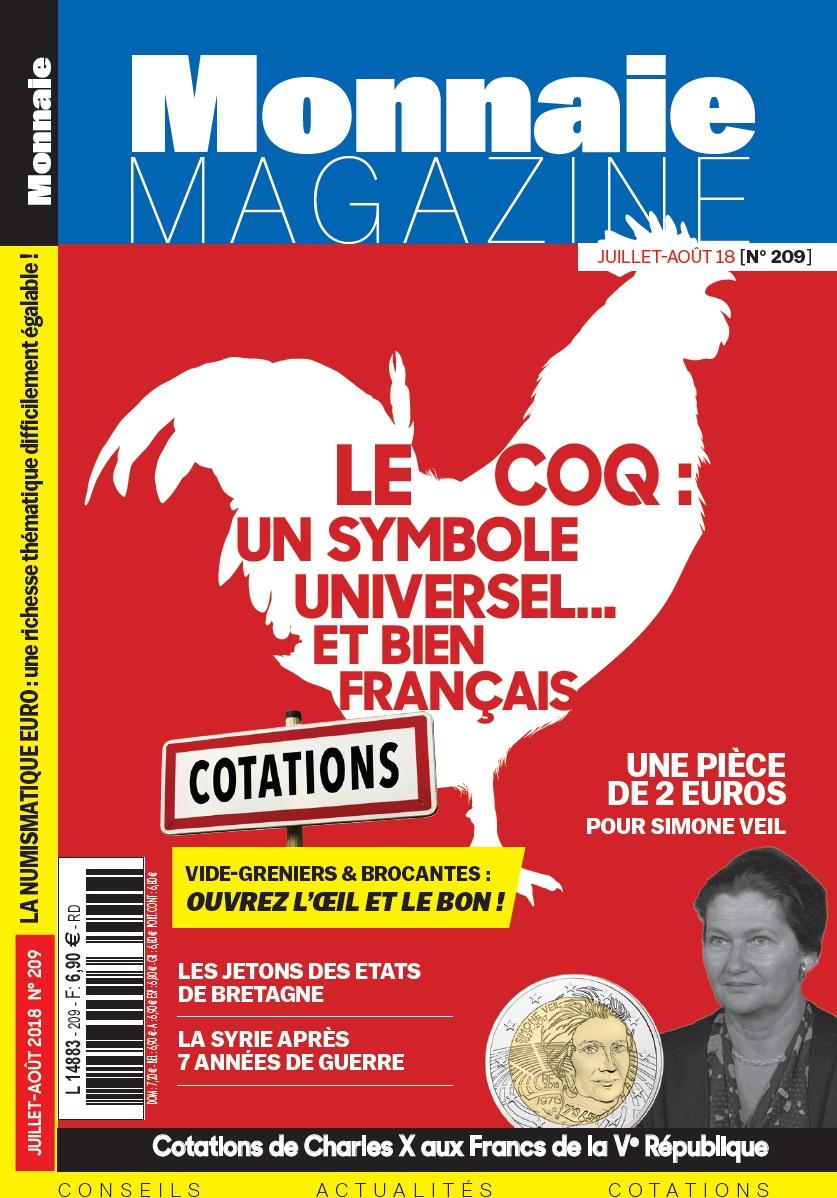 Monnaie Magazine Juillet-Août 2018