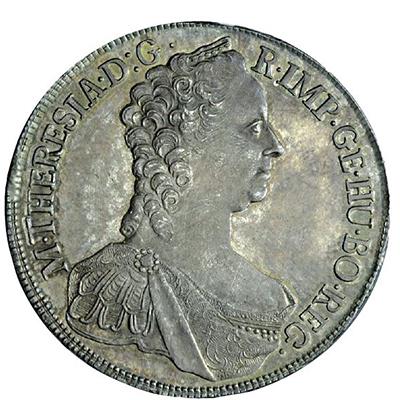Thaler de Marie-Thérèse d'Autriche, frappé en 1765