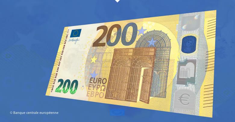 A la découverte des nouveaux billets de 100 et 200 €