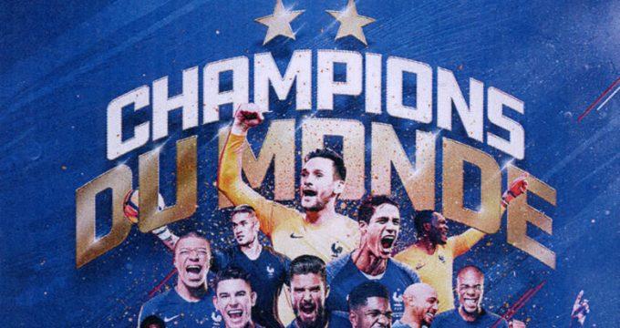 Pièce de 10 € ARGENT FRANCE DOUBLE CHAMPIONNE DU MONDE