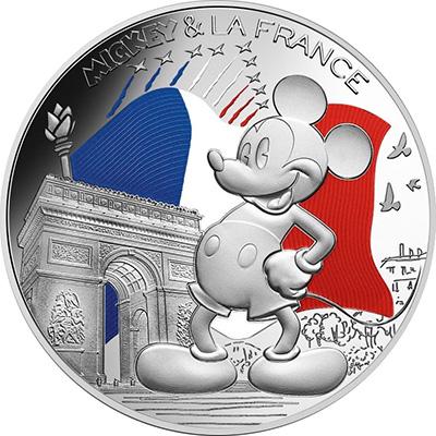 Mickey sur les Champs Élysées