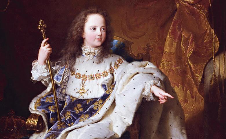 "L'écu dit ""au vertugadin"" de Louis XV"