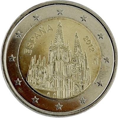 2 Euros Espagne 2012