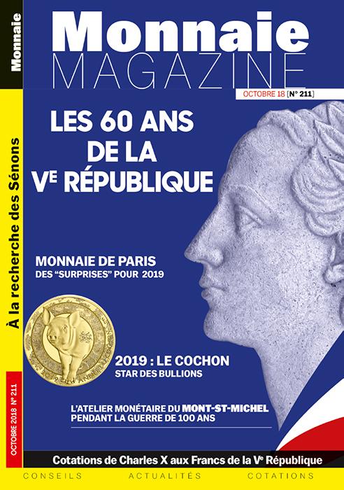 Monnaie Magazine Septembre 2018