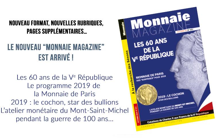 Monnaie Magazine Octobre 2018
