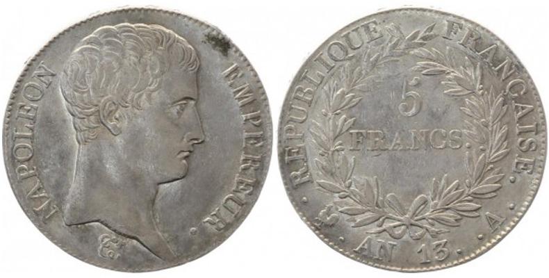 5 Francs Napoléon