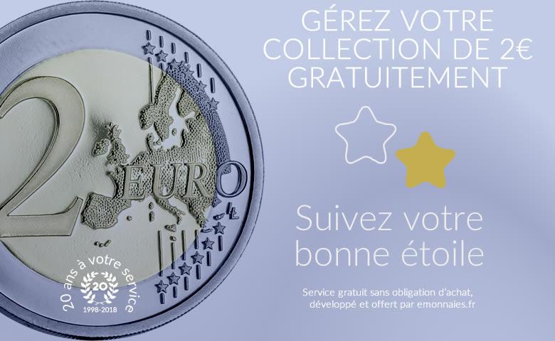 GÉREZ VOTRE COLLECTION DE 2€ GRATUITEMENT