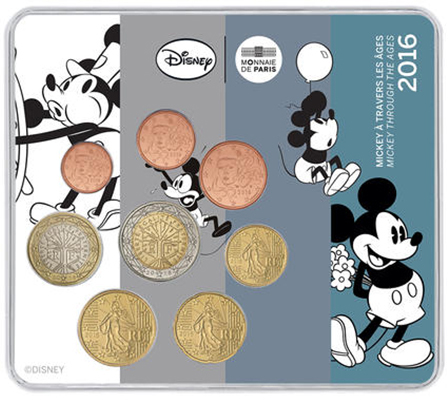 Miniset Mickey Mouse à travers les âges 2016
