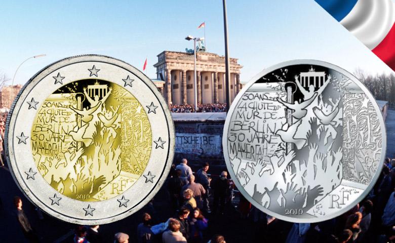 2019 : Chute du Mur de Berlin par la Monnaie de Paris