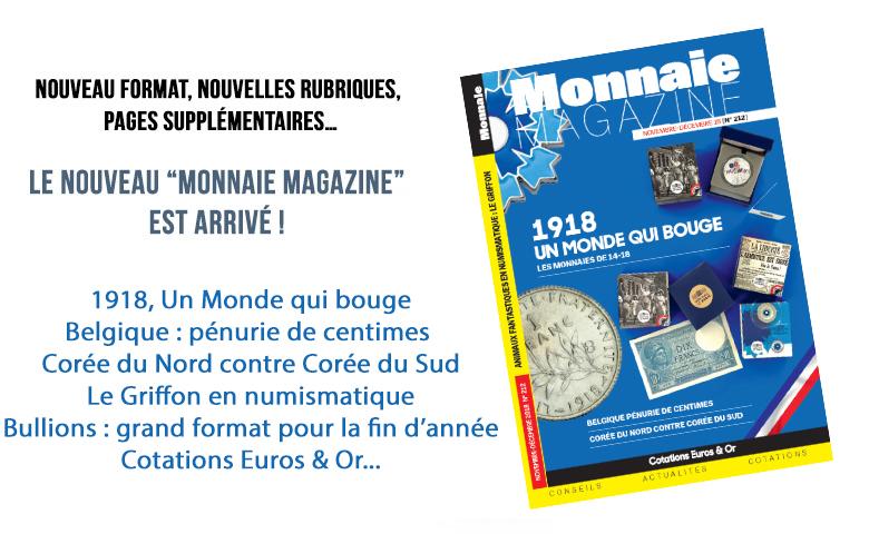 Monnaie Magazine Novembre Décembre 2018