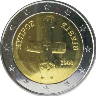 2 euros Chypre