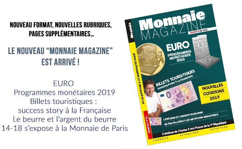Monnaie Magazine Janvier 2019