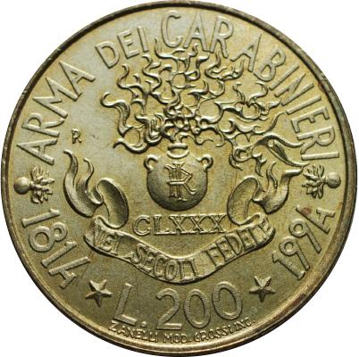 200 Lires 1994