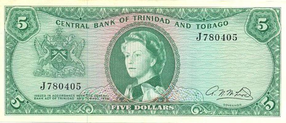 5 Dollars 1964