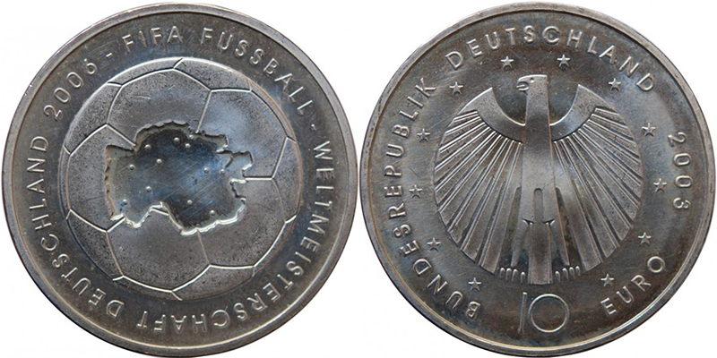 10  euros Allemagne 2003