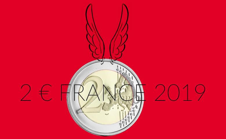 2 euros Astérix 2019 par la Monnaie de Paris