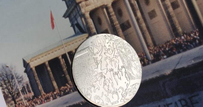 10 euros mur de Berlin 2019