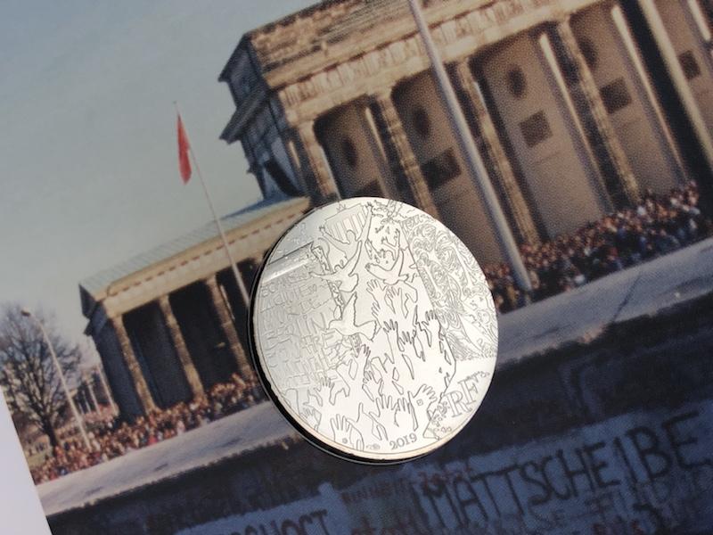 Le mur de Berlin par la Monnaie de Paris