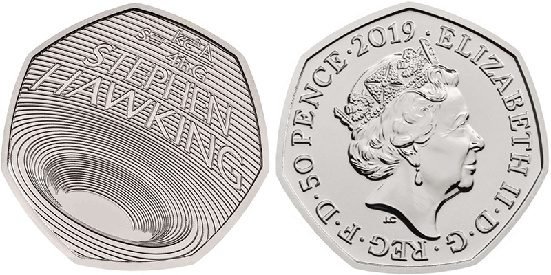 5 pence Stephen Hawking - Royal Mint