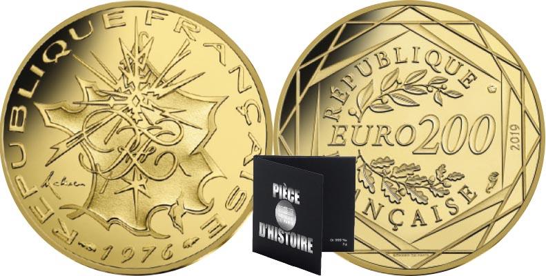 200 euros Or - République française